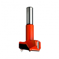 Свредло за панти CMT 15x70мм, LH-ляво, HW, Z2, V2, цилиндрична опашка 10x26мм