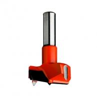 Свредло за панти CMT 17х57.5, LH-ляво, HW, Z2, V2, цилиндрична опашка 10х26мм
