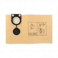 Торбичка филтърна METABO 32л, за прахосмукачка: ASA 32 L, ASA 1202, 5бр в пакет, за ед. употреба