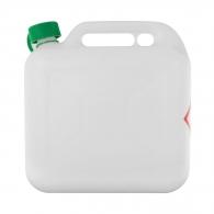 Туба за бензин STIHL 10л, пластмасова, прозрачна