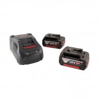 Батерия акумулаторна BOSCH GBA 18Vx2 + GAL 1880CV, 18V, 5.0Ah, Li-Ion, к-кт
