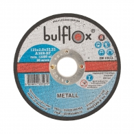 Диск карбофлексов BULFLEX 125x2.0x22.23мм, за рязане на метал