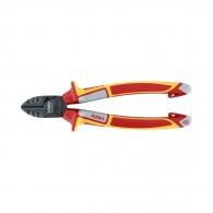 Клещи резачки FELO 180мм, ф1.6/2.5мм, CS, двукомпонентна дръжка, 1000V