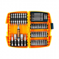 Комплект накрайници DEWALT 45части, PH, PZ, SB, TX, шестостен с магнитен държач
