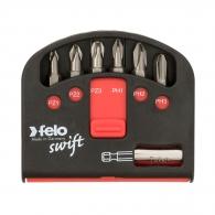 Комплект накрайници FELO Swift 7части, PH, PZ, с магнитен държач