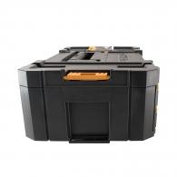 Куфар за инструменти DEWALT TSTAK iV, с органайзер, пластмасов, черен/жълт