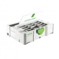 Куфар за инструменти FESTOOL SYS 1 TL-DF, пластмаса, бял