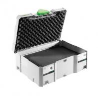Куфар за инструменти FESTOOL SYS 2 VARI, пластмаса, бял