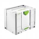 Куфар за инструменти FESTOOL SYS Combi 3, пластмаса, бял - small