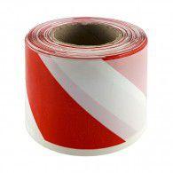 Лента обезопасителна GR SMART 100м, полиетилен, червено и бяло