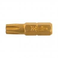 Накрайник FELO TiN TORX 30x25мм, C6.3, SX 75