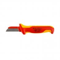 Нож за сваляне на изолация KNIPEX, изолиран 1000V