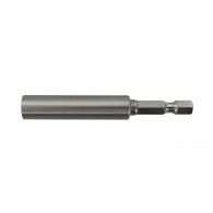 Удължител за накрайници DEWALT 75мм, 1/4'', E6.3, с магнит, за DCF620, DCF621
