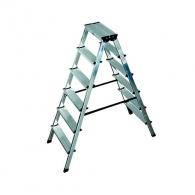 Алуминиевa стълба KRAUSE Dopplo 2х6, 1400мм(на стълбата), двустранна, за домашна употреба, 150кг.