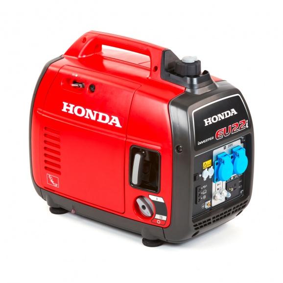 Генератор HONDA EU22I, 2.2kW, 230V, бензинов, монофазен, инверторен