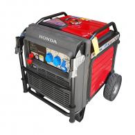 Генератор HONDA EU70IS, 7.0kW, 230V, бензинов, монофазен, инверторен, ел.стартер