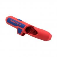 Инструмент за почистване на кабели KNIPEX 8-13мм, кръгли кабели, коаксиални кабели