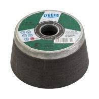 Камбанка TYROLIT C60 110x22.23x55мм, за мозайка, черен силициев карбид