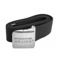 Колан текстилен DEWALT Belt Black 130см, черен, универсален размер