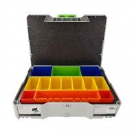 Куфар за инструменти FESTOOL SYS 1 BOX, пластмаса, бял