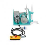 Лебедка подемна електрическа IMER AP150, 800W, 150кг, 81м/4.0мм - въже