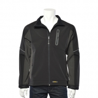 Мъжко яке DEWALT Soft Shell Fleece Black/Grey L, сиво/черно