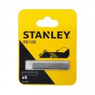 Нож за ръчно ренде STANLEY 50мм 5броя, за дърво, 5бр к-кт, HSS, за RB 5 и RB10
