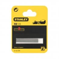 Нож за ръчно ренде STANLEY 50мм 3броя, за дърво, 3бр к-кт, HSS, за RB 5 и RB10