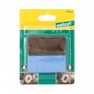 Полирпаста за полиране на метал WOLFCRAFT 2бр., кафява и синя, за грубо и фино полиране на всички метали