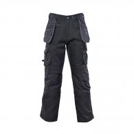 Работен панталон DEWALT Pro Canvas Work Black 36х33, черен