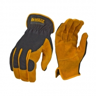 Ръкавици DEWALT DPG216 Leather Performance Hybrid Gloves, с пет пръсти