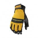 Ръкавици DEWALT DPG23 Open Fingerless Performance Gloves, без пръсти - small, 97500