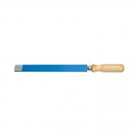 Шабър UNIOR 200мм, плосък, с лакирана букова дръжка, инструментална стомана