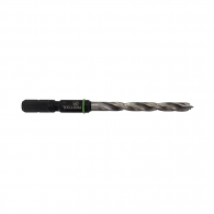 Свредло за дърво FESTOOL 5.0x86/52мм, CV-стомана, 2 режещи ръба, цилиндрична опашка с държач