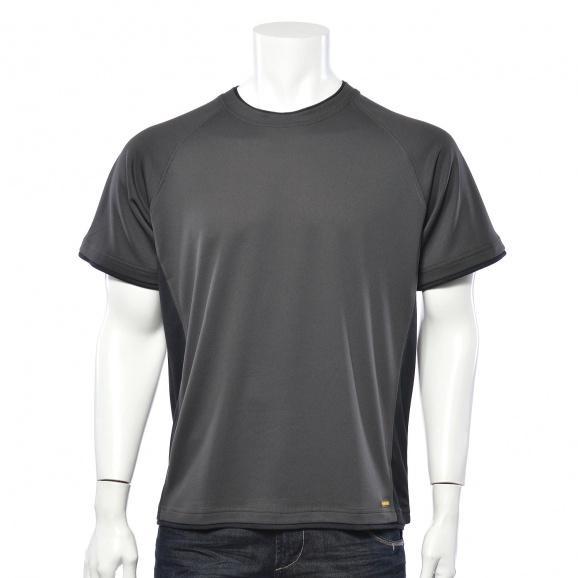 Тениска с къс ръкав DEWALT PWS T-Shirt Grey/Black XL, сиво/черна