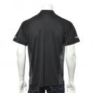 Тениска с къс ръкав и яка DEWALT PWS Polo Shirt Black/Grey M, сиво/черна - small, 100003