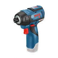 Акумулаторен гайковерт ударен BOSCH GDR 12V-110 Professional, 12V, 2.5Ah, Li-Ion, 110Nm, 1/4
