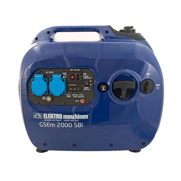 Генератор ELEKTRO MASCHINEN GSEm 2000 SBI, 2.0kW, 230/12V, бензинов, монофазен, инверторен