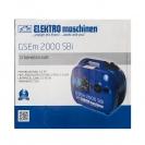 Генератор ELEKTRO MASCHINEN GSEm 2000 SBI, 2.0kW, 230/12V, бензинов, монофазен, инверторен - small, 104831
