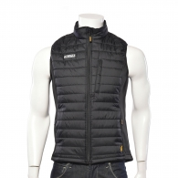 Грейка DEWALT Force Gilet Black/Grey XXL, черна