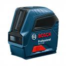 Линеен лазерен нивелир BOSCH GLL 2-10 Professional, 2 лазерни линии, точност 3mm/10m, автоматично - small