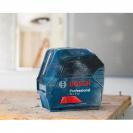 Линеен лазерен нивелир BOSCH GLL 2-10 Professional, 2 лазерни линии, точност 3mm/10m, автоматично - small, 104106