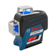 Линеен лазерен нивелир BOSCH GLL 3-80 C Professional, 3 лазерни линии, точност 2mm/10m, автоматично
