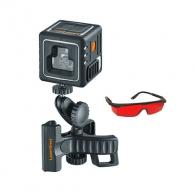 Линеен лазерен нивелир LASERLINER CompactCube-Laser 3 Plus, 3 лазерни линии, точност 3.5mm/10m, автоматично