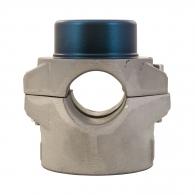Накрайник за поялник за заваряване DYTRON ф50мм/син, за тръби PP,PB,PE,PVDF, 500W/650W, кръгла муфа, син тефлон