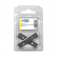 Нож резервен VIRUTEX, за инструмент за рязане на мебелен кант RC21Е, 2бр комплект