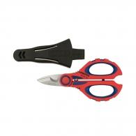 Ножица за кабели KNIPEX 190мм, ф6мм, Cu-Al, двукомпонентна дръжка