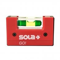 Пластмасов нивелир SOLA Go 6.8cm, с една либела