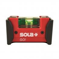 Пластмасов нивелир с клипс SOLA Go 6.8cm, с една либела