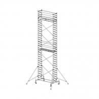 Скеле алуминиево KRAUSE Stabilo H=10.4м, 2000х700мм, 200кг/кв.м, с колела